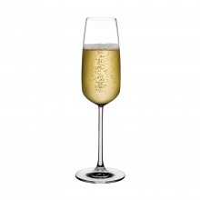 Mirage Champagne Glasses 245 ml (Set of 6) - Nude Glass