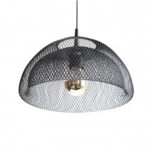 Moiré Ceiling Lamp 30cm (Black) - The Fundamental Group