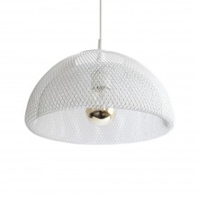 Moiré Ceiling Lamp 30cm (White) - The Fundamental Group