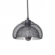 Moiré Ceiling Lamp 20cm (Black) - The Fundamental Group