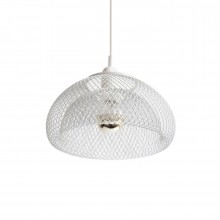 Moiré Ceiling Lamp 20cm (White) - The Fundamental Group
