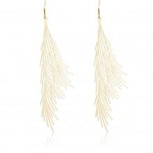 Common Reed Earrings M (Gold) - Moorigin