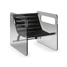 Naked Glass Armchair - Tonelli Design