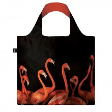 National Geographic Flamingos Foldable Shopping Bag - Loqi