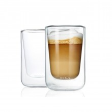 NERO Insulated Cappuccino Glasses 250ml (Set of 2) - Blomus