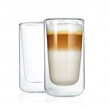 NERO Insulated Latte Macchiato Glasses 320ml (Set of 2) - Blomus