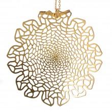 Chrysanthemum Pendant (Brass) - Nervous System