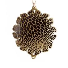 Corollaria Pendant (Brass-Black) - Nervous System