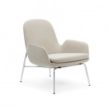 Era Lounge Chair Low (Metal) - Normann Copenhagen