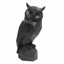 Origami Owl Statue (Matt Black) - Present Time