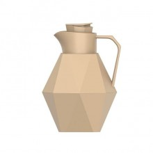 Origami Thermos Bottle 1 L (Sand Brown) - Present Time