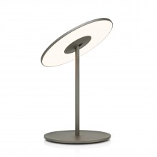Circa Flat Panel LED Table Lamp (Graphite) - Pablo Designs