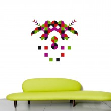 Pam Vinyl Wall Sticker - Domestic
