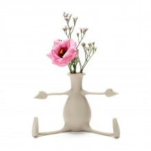 FLORINO Friendly Flower Vase (Stone) - Peleg Design