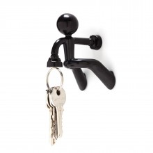 Key Pete Magnetic Key Holder (Black) - Peleg Design