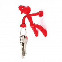 Key Petite Magnetic Key Holder (Red) - Peleg Design