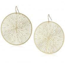 Peltate Earrings (Gold) - Nervous System