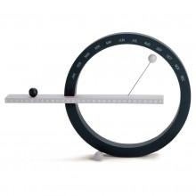 Perpetual Calendar Large (Black / Silver) - MoMA