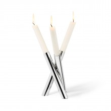 PERPLEX Candleholder (Stainless Steel) - Philippi