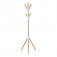 Pierrot Coat Stand (White) - Alessi