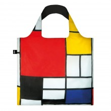 Piet Mondrian Composition Foldable Shopping Bag - Loqi