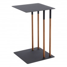 Plain Side Table (Black) - Yamazaki