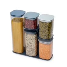 Podium™ Sky Storage Container Set and Stand 5 Pieces - Joseph Joseph
