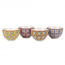 Colour Hippy Bowls (Set of 4) - pols potten