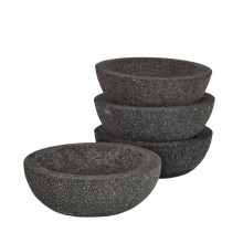Lava Stone Bowls Small (Set of 2) - Pols Potten