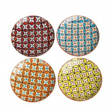 Colour Hippy Plates (Set of 4) - pols potten