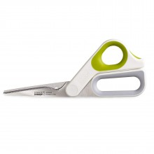 PowerGrip Kitchen Scissors 22.4 cm. (White / Green) - Joseph Joseph