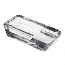 Presidente Cigar Ashtray - Nude Glass