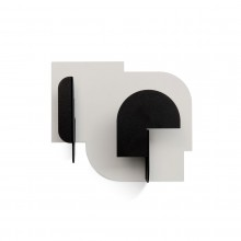 URBA03 Coat Hook (Light Grey / Carbon) - Presse Citron