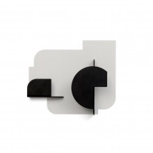URBA04 Coat Hook (Light Grey / Carbon) - Presse Citron
