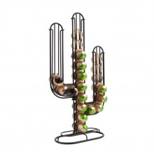 Cactus Coffee Capsule Holder (Black) - Present Time