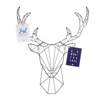 Linea Deer Memo Rack - Present Time