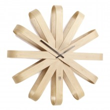 Ribbonwood Wall Clock - Umbra