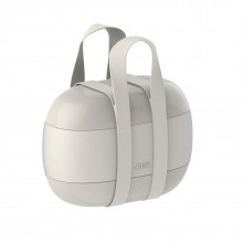 Food à Porter Lunch Box (Grey) - Alessi