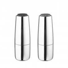 Salpi Salt & Pepper Mill Set (Stainless Steel) - Blomus