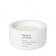 Scented Candle FRAGA XL French Cotton - Blomus