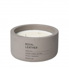 Scented Candle FRAGA XL Royal Leather - Blomus