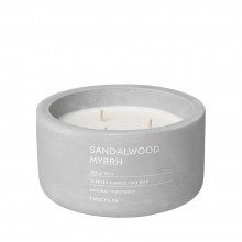 Scented Candle FRAGA XL Sandalwood Myrrh - Blomus