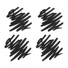 Scratch Coasters (Set of 4) - MoMA