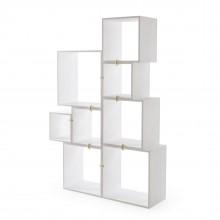 Assemblage Modular Bookcase (White) - Seletti