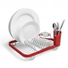 Sinkin Dish Rack (Red) - Umbra