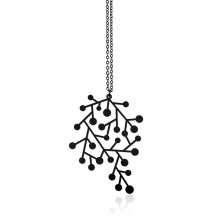 Snow Days Pendant S (Black) - Moorigin