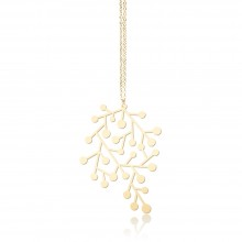 Snow Days Pendant S (Gold) - Moorigin