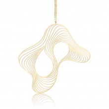 Soft Pendant L (Gold) - Moorigin