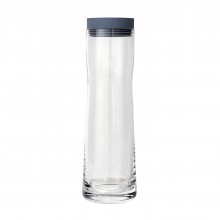 SPLASH Water Carafe 1 Liter Flint Stone - Blomus