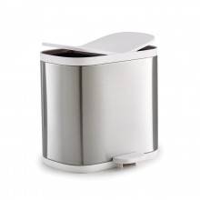 Split™ 6L Waste & Recycling Bin (Stainless Steel) - Joseph Joseph